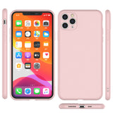 Shockproof Silicone Soft Cover with Screen Protector For iPhone 11/Pro/Max - carolay.co phone case shop