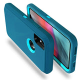 Case Protective Defender Shockproof Rubber Armor For iPhone - carolay.co phone case shop