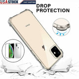 Case Silicone Gel Shockproof Protective Clear Cover For iPhone - carolay.co