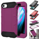 Case Hybrid Heavy Duty Shockproof Rugged Hard Armor For iPhone - carolay.co phone case shop