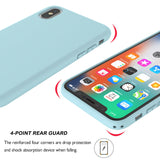 Silicone Case Soft Cover for iPhone - carolay.co phone case shop