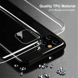360° Full Rubber Protective Clear Soft Silicone Case For iPhone - carolay.co phone case shop