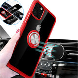 Hybrid Case Magnetic Stand Ring Holder Armor Rubber For iPhone - carolay.co phone case shop