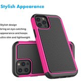 Case Hybrid Hard Cover with Screen Protector For iPhone - carolay.co