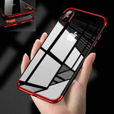 Case Clear Transparent Bumper Shockproof Protective Cover For iPhone - carolay.co phone case shop