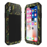 Case Shockproof Doom Armor Metal Aluminum For iPhone