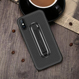 Armor Rugged Holder Stand Shockproof Back Case For iPhone - carolay.co - free shipping