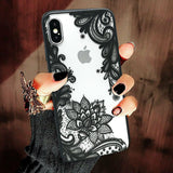 Wedding Lace Mandala Cover For iPhone - carolay.co - free shipping