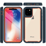 For iPhone X/XS XR XS MAX Hybrid Bumper Protective Case Hard Armor Rubber Cover - carolay.co phone case shop