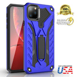 Heavy Duty Shockproof Stand Cover Glass Screen Protector For iPhone - carolay.co phone case shop