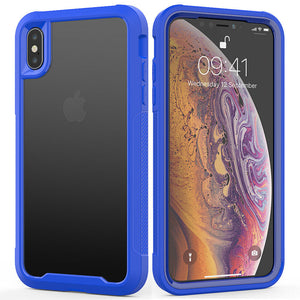 Hybrid Silicone Clear Ultra Slim Back Case For iPhone - carolay.co phone case shop
