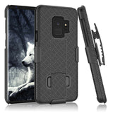 Heavy Duty 4 In 1 Combo Shockproof Armor Case With Belt Clip For Samsung Galaxy series