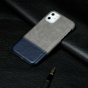 Ultra Slim Leather Case Shockproof For iPhone - carolay.co phone case shop