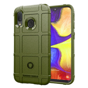 Shockproof Rugged Rubber Armor Case For Samsung Galaxy - carolay.co phone case shop