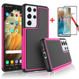 Case with Protector for Samsung S21/S21+/S21 Ultra 5G