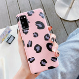 Leopard Pattern Bling Soft Case For Samsung - carolay.co phone case shop