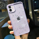 Star Glitter Clear Bling Case For iPhone - carolay.co