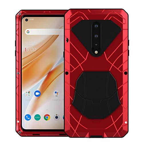 Doom armor Metal Aluminum phone Case for OnePlus 8 - Hybrid Armor Heavy Duty - carolay.co phone case shop