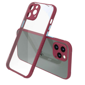 Shockproof Soft Silicone Clear Back Case For iPhone - carolay.co