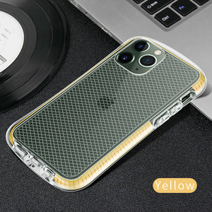 Slim Clear Soft Rubber Silicone Protective Back Case For iPhone - carolay.co phone case shop