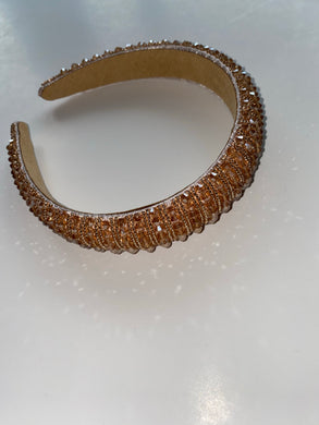 Tan Gem Headband