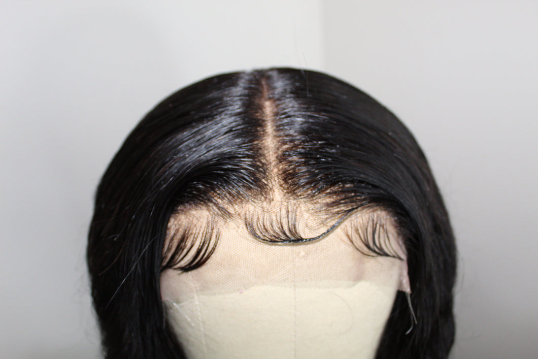 Middle Part Wig Construction