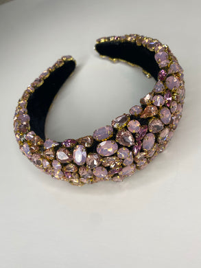 Pink Diamonds Headband
