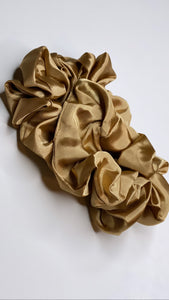 Light Caramel Silk  Scrunchie