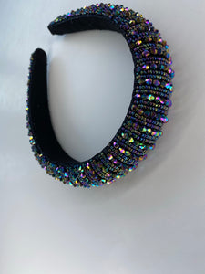 Iridescent Gem Headband