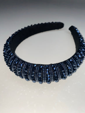 Blue Gem Headband