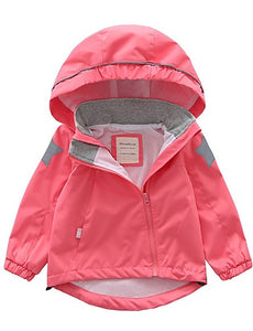 Kids Boys' Basic Geometric Jacket & Coat Blushing Pink