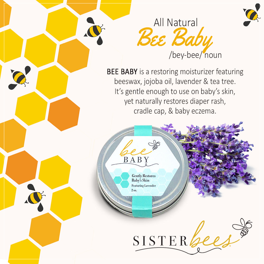 Bee Baby - Gently Restores Baby's Skin - Sister Bees