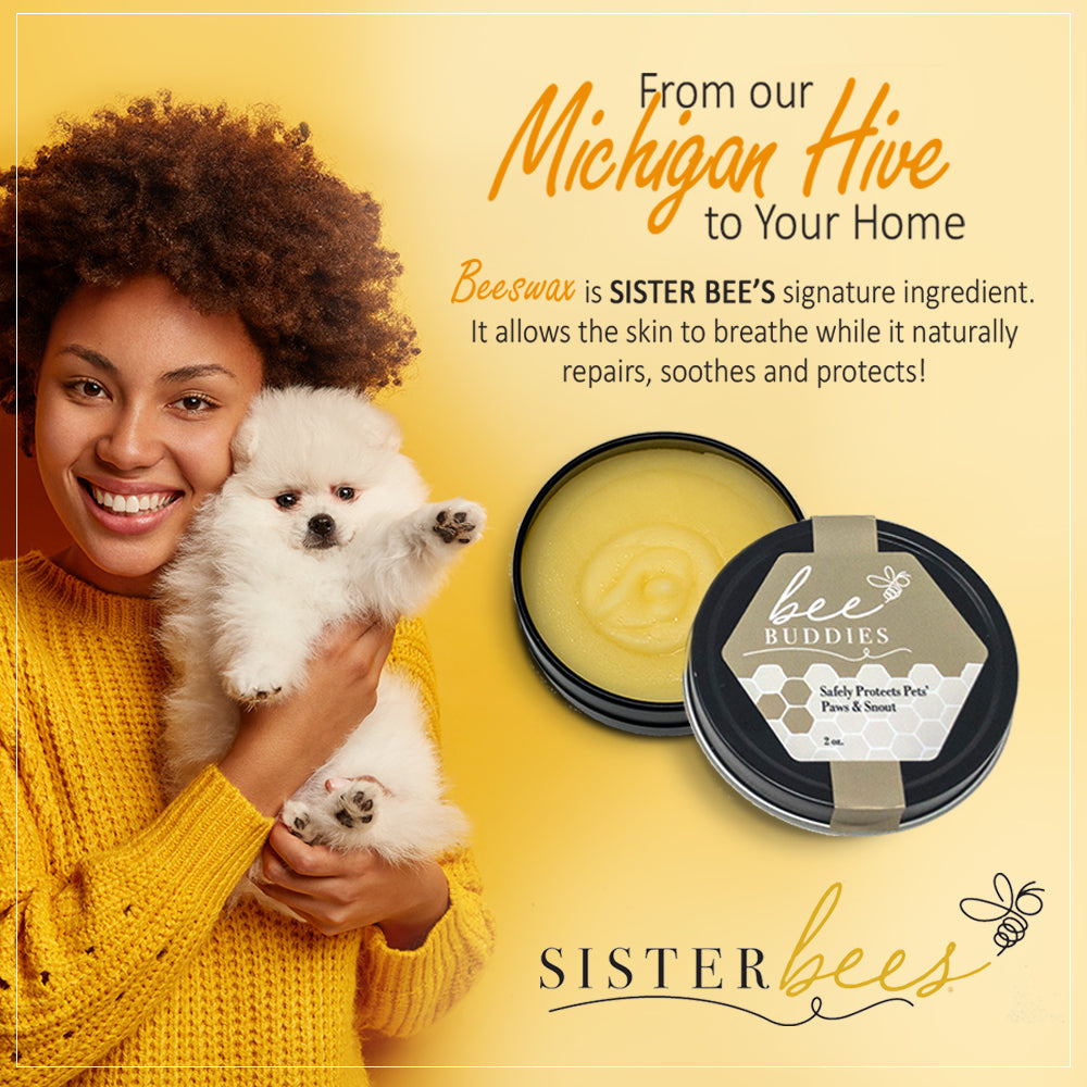 Bee Buddies (Safely Protects Pets' Paws & Snout) - Sister Bees