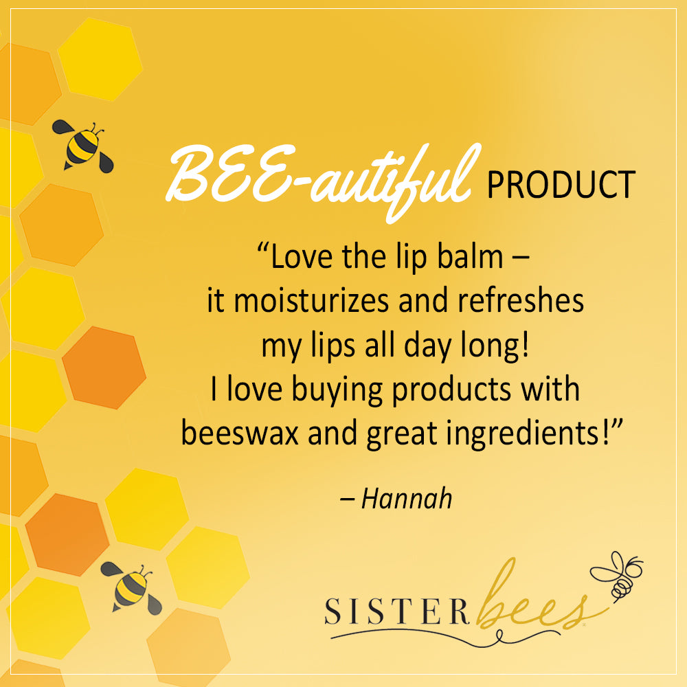 Blueberry Crumble All Natural Beeswax Lip Balm - Sister Bees