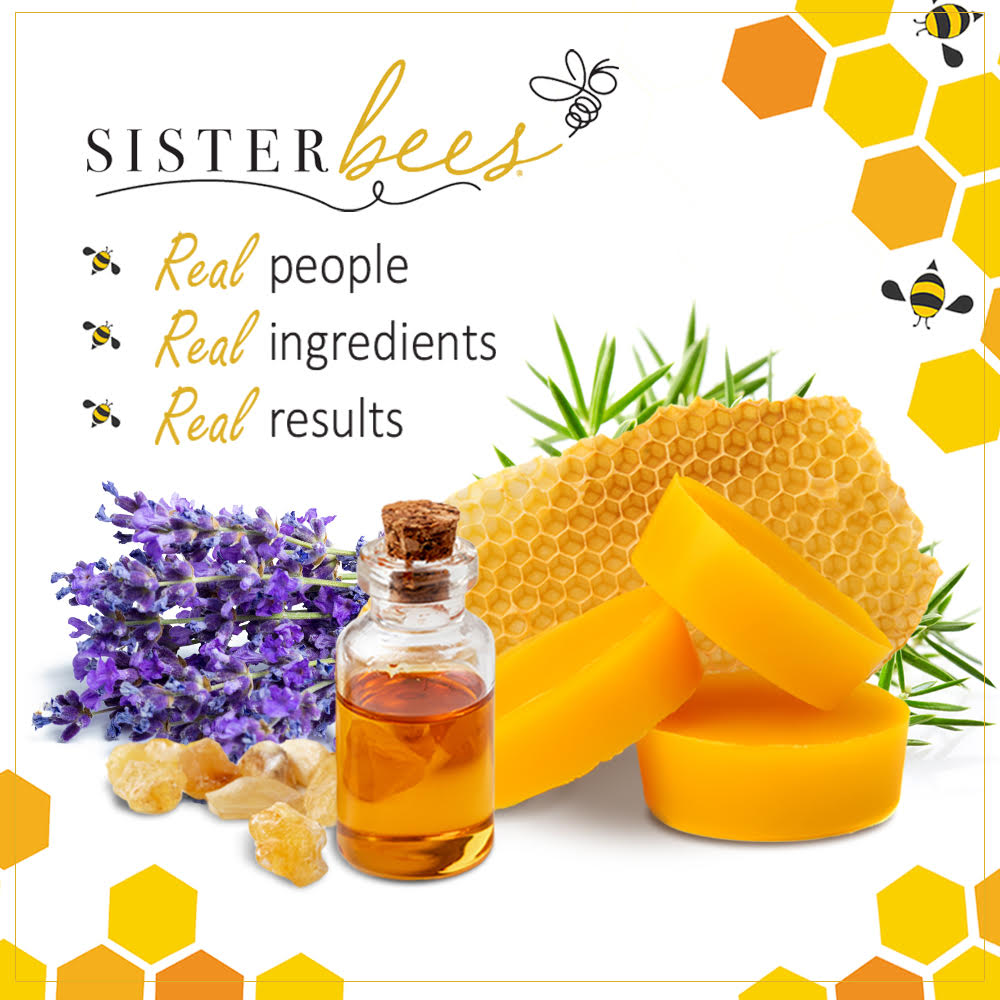 Bee Beautiful - Soothes & Restores Hands & Body - Sister Bees
