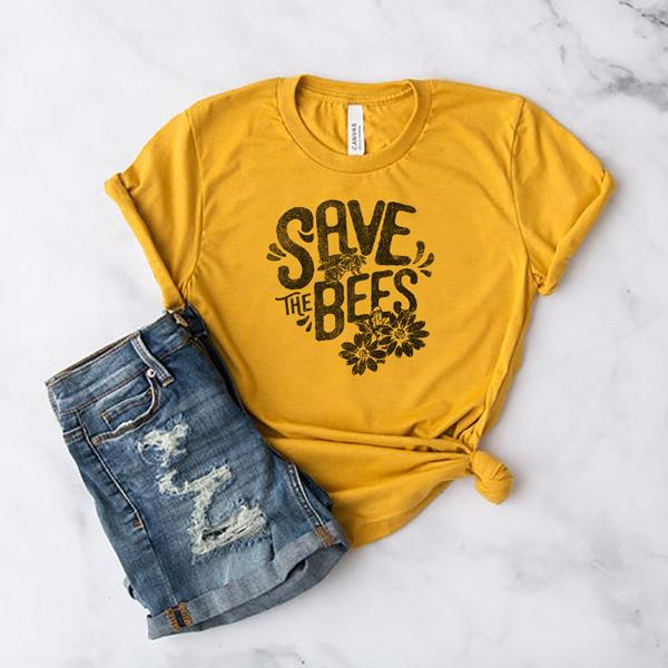 Save the Bees Uni-sex T-Shirt - Sister Bees