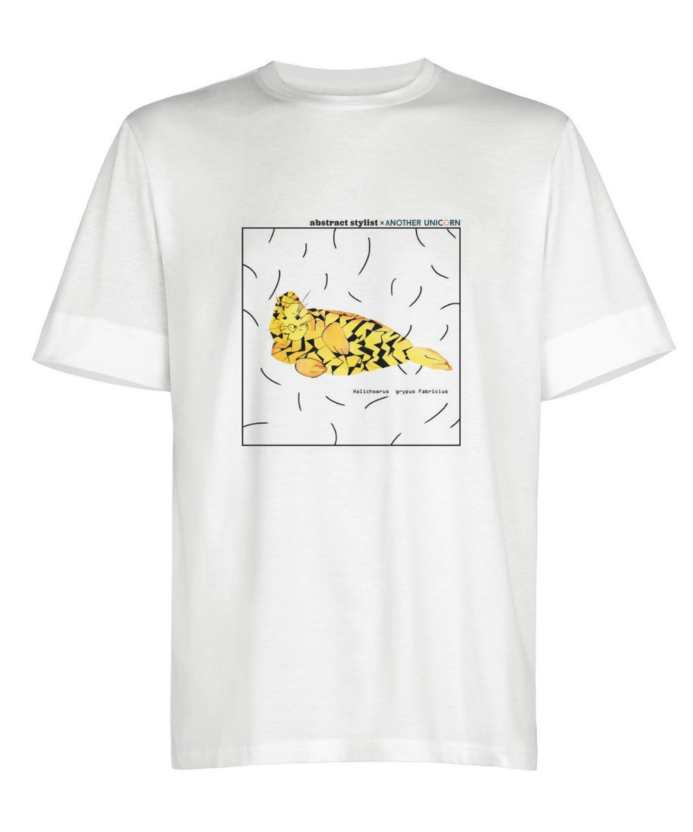 white-t-shirt-with-steal-abstract-unisex-for-women-and-men-another-unicorn-steal-cloting-details-front.jpg