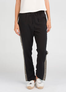 Penny Pants - Black/Khaki