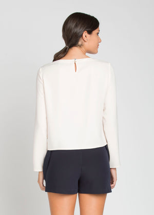 Muriel Blouse - Ivory