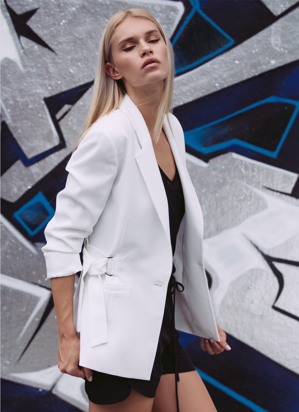 Paris Blazer - White