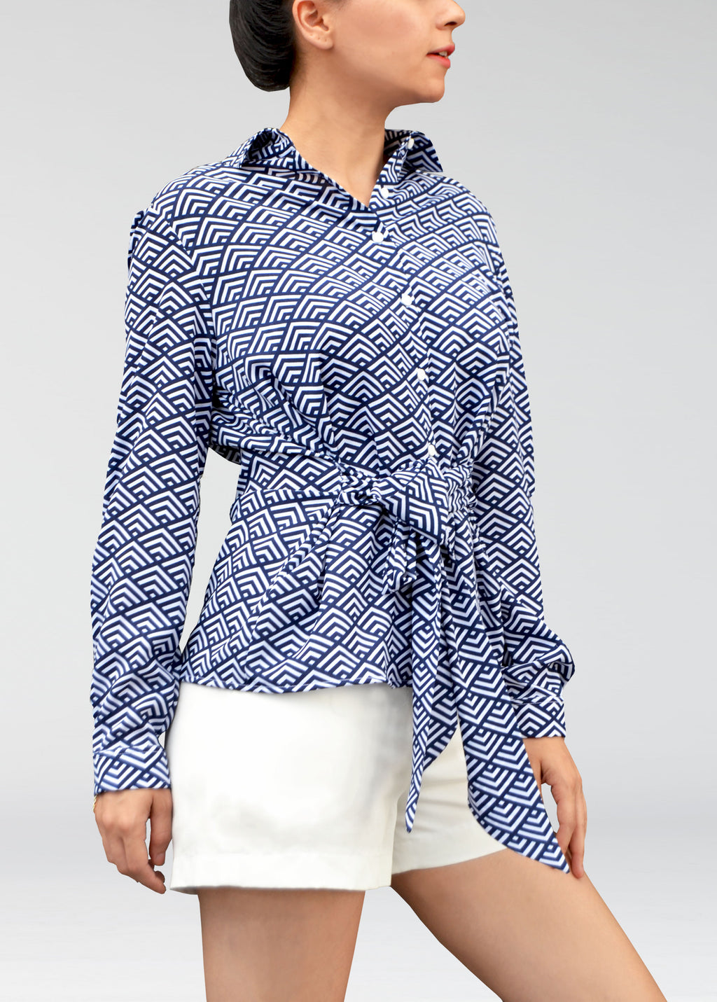 Alexie printed shirt