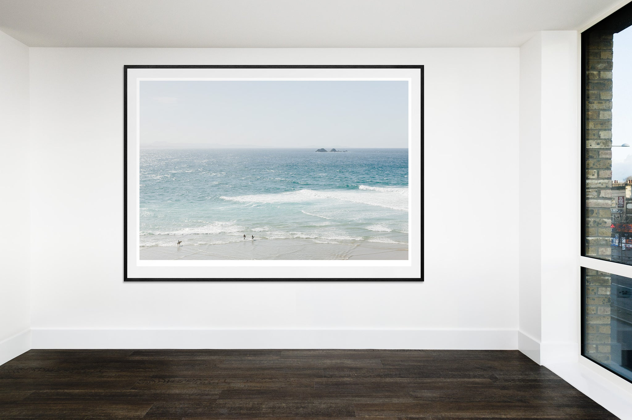 Surf Time at Wategos Beach (203x152cm)