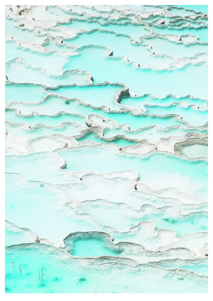 Pools of Pamukkale (84x119cm)