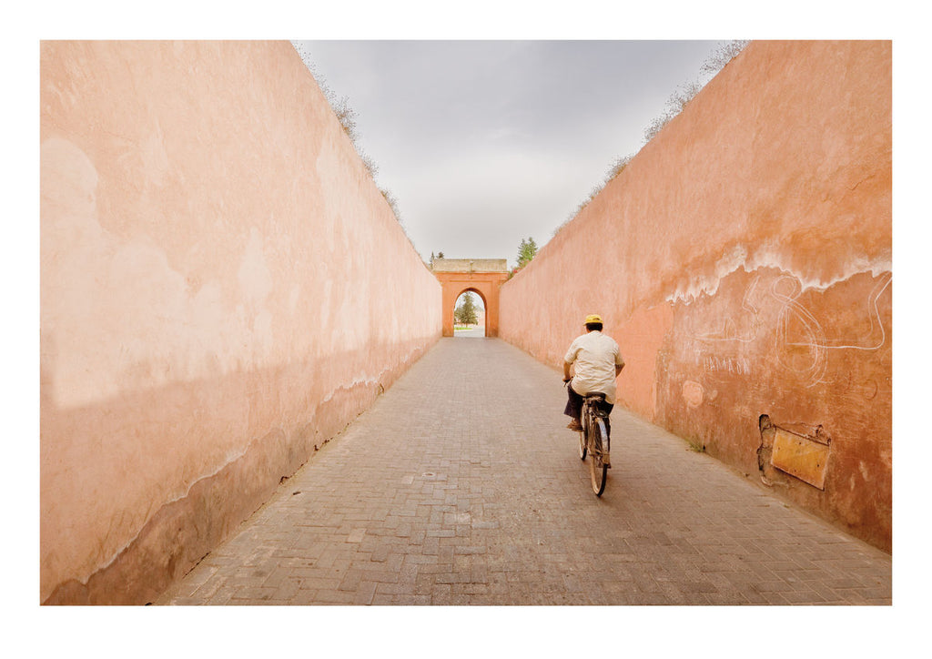 Exiting the Marrakesh Medina (59x42cm)