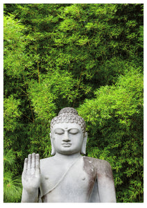 Buddha and Bamboo (84x119cm)