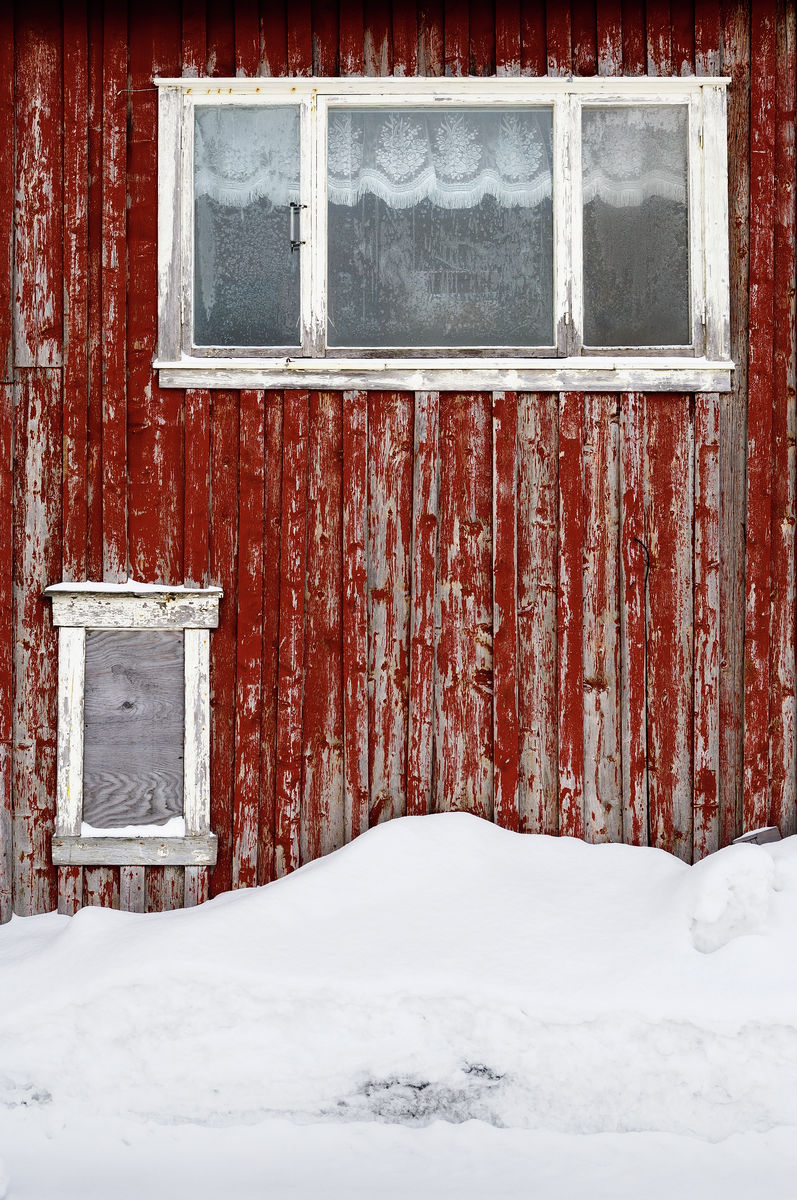 Red Wall in Mosjøen, Norway II