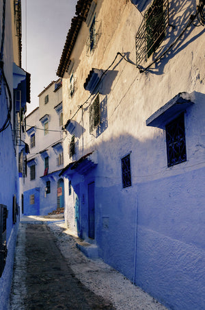 Evening in Chefchaouen