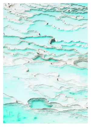 Pools of Pamukkale (42x59cm)