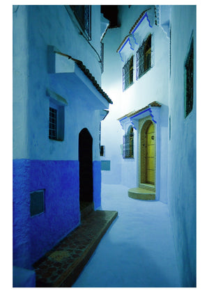 Night in Chefchaouen (84x119cm)