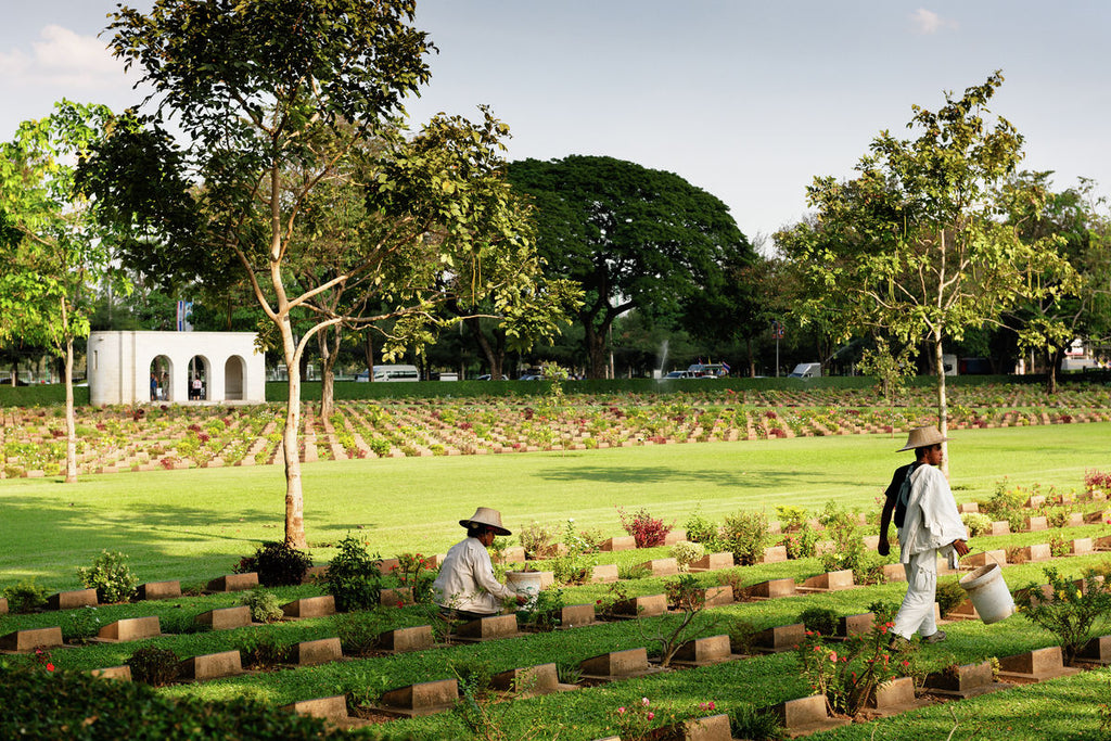 The Allied War Cemetery, Kanchanaburi